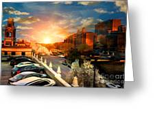 Brush Creek Kansas City Missouri Greeting Card by Liane Wright