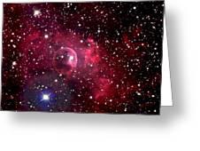 Bubble Nebula Greeting Card by Jim DeLillo