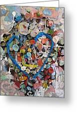 Bubblegum Love Greeting Card by Tim Allen