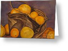 Bucket Of Goodness Greeting Card by Roberta Voss