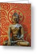 Buddha 2 Greeting Card by Edward Myers