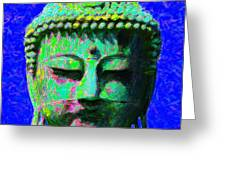 Buddha 20130130p18 Greeting Card by Wingsdomain Art and Photography