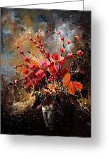 Bunch 1207 Greeting Card by Pol Ledent