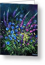 Bunch Of Wild Flowers Greeting Card by Pol Ledent