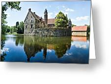 Burg Vischering Greeting Card by Dave Bowman