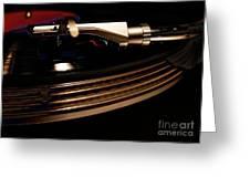 Burning Vinyl  Greeting Card by Steven  Digman