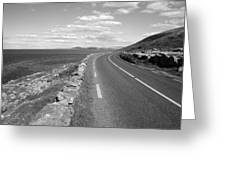 Burren Road Greeting Card by John Quinn