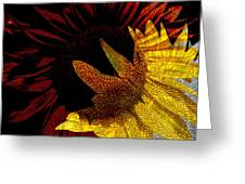 Bursting With Joy Greeting Card by Lenore Senior