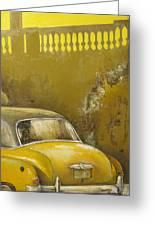 Buscando La Sombra Greeting Card by Tomas Castano