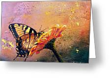 Butterfly Greeting Card by Andrew King