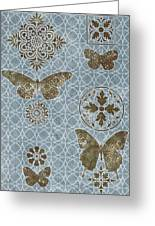 Butterfly Deco 1 Greeting Card by JQ Licensing