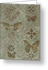 Butterfly Deco 2 Greeting Card by JQ Licensing
