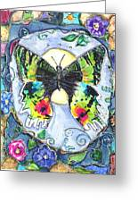 Butterfly Greeting Card by Patricia Allingham Carlson