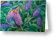 Butterfly View Greeting Card by Kendall Kessler