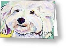 Buttons    Greeting Card by Pat Saunders-White