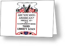 Buy U.S. Government Bonds Greeting Card by War Is Hell Store