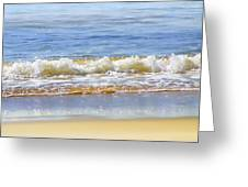 By The Coral Sea Greeting Card by Holly Kempe