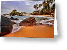 Cabo San Juan Greeting Card by Skip Hunt