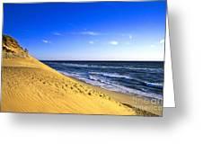 Cahoon Beach Greeting Card by John Greim