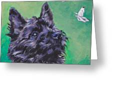 Cairn Terrier Greeting Card by Lee Ann Shepard