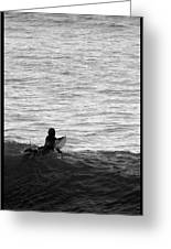 California Surfing Greeting Card by Brad Scott