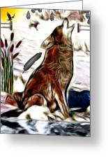 Call Of The Wild Greeting Card by Madeline  Allen - SmudgeArt