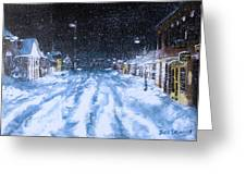 Call Out The Plows Greeting Card by Jack Skinner