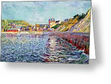 Calvados Greeting Card by Paul Signac