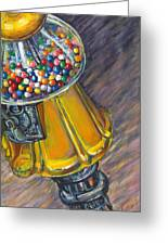 Can I Have A Penny Please Greeting Card by Jami Childers