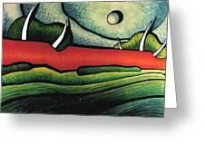 C.a.n. View Greeting Card by Jason Charles Allen
