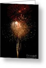 Candle Burst Greeting Card by Norman  Andrus