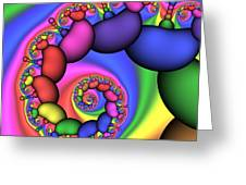 Candy Mushrooms 171 Greeting Card by Rolf Bertram
