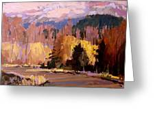 Canyon Drive Greeting Card by Brian Simons