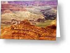 Canyon Peak Greeting Card by Scott Pellegrin