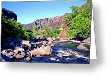 Canyon River  Greeting Card by Kevin Smith