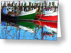 Cape Cod Paintings  Greeting Card by Michael Cranford