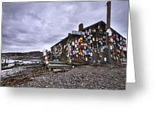 Cape Neddick Lobster Pound Greeting Card by Eric Gendron