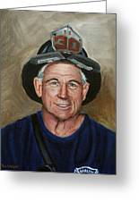 Captain E.j. Greeting Card by Paul Walsh