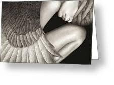 Captivity Greeting Card by Pat Erickson