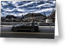 Car Greeting Card by Marco Moscadelli