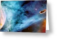 Carina Nebula #5 Greeting Card by The  Vault - Jennifer Rondinelli Reilly