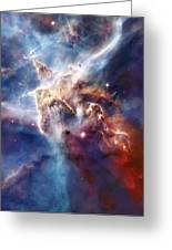 Carina Nebula Pillar Greeting Card by The  Vault - Jennifer Rondinelli Reilly