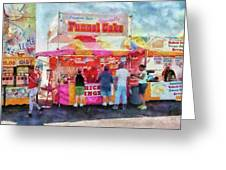 Carnival - The variety is endless Greeting Card by Mike Savad
