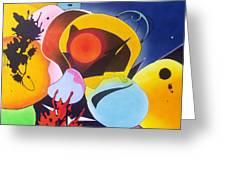 Carnivale Greeting Card by Wayne Devon
