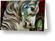 Carousel Horse  Greeting Card by Paul Ward
