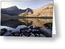 Carrauntoohill Ireland's Tallest Mountain Greeting Card by Pierre Leclerc Photography
