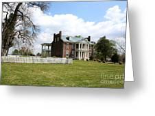Carter House And Carnton Plantation Greeting Card by John Black
