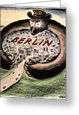 Cartoon: Cold War Berlin Greeting Card by Granger
