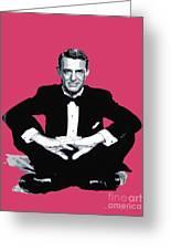 Cary Grant Greeting Card by David Lloyd Glover
