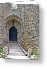 Castle Entrance Greeting Card by Suzanne Gaff